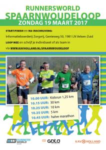 Kom naar de Spaarnwoudeloop 19 maart 2017