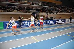 5e plaats 4x400m NK Indoor Senioren