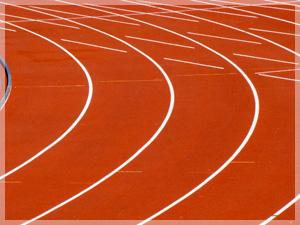 Atletiekbaan krijgt nieuwe toplaag