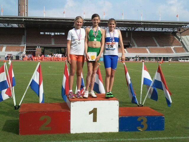Fay Witte en Robina Negenman winnen zilver op Nationale D-Spelen