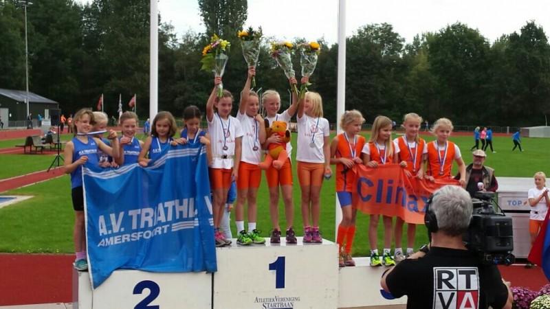 Meisjes pupillen B snellen in clubrecord naar Nederlandse titel