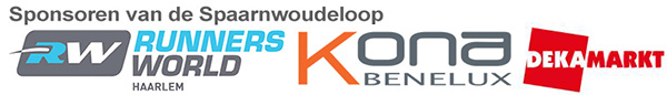 Sponsoren van de Spaarnwoudeloop 2015