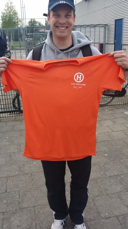 De jubileum shirts zijn gearriveerd!