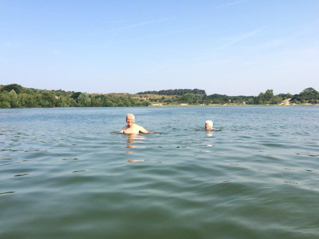 Blijf keepfit door te zwemmen