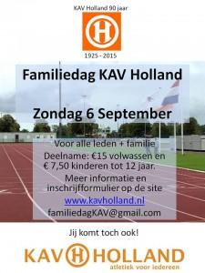 Familiedag 90 jaar KAV Holland