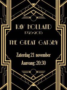 KAV Holland Jubileum feest @ Nog te bepalen