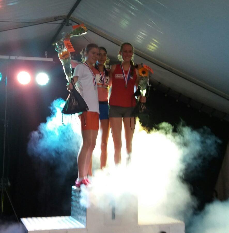 Zilver voor Josien Scheepens op NK Junioren!