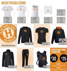 Klik om de kledinglijn van KAV Holland in groot formaat te zien