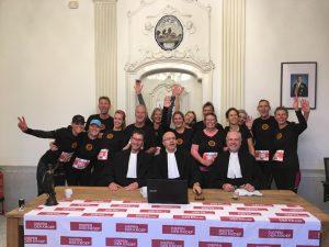 Op bezoek bij de advocaten