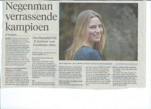 interview Robina Negenman