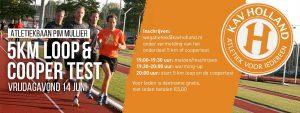 Coopertest / 5km @ Atletiekbaan Haarlem