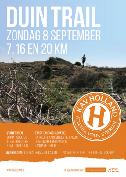 Duintrail op 8 september