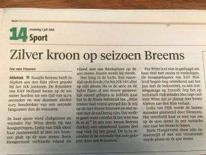 Artikel Haarlems Dagblad