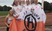 B-meiden presteren onder druk en pakken zilver bij competitiefinale