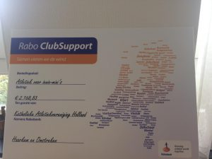 Gift Rabo Club Support