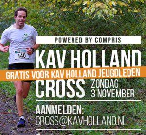 KAV Holland Cross gratis voor jeugdleden