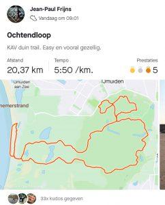 Route 20km