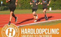 Geannuleerd: Hardloopclinic 31 oktober 2020