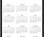 Voorlopige kalender 2021