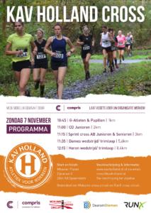 poster KAV Holland cros 2021